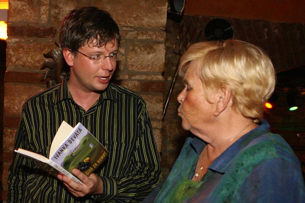 Ivanka Devátá a Aleš Cibulka