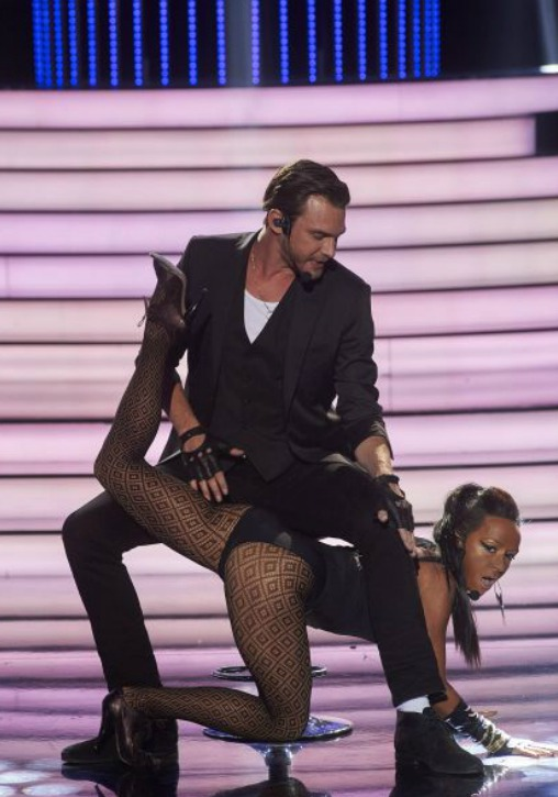 Tatiana Vilhelmová a Vojta Dyk jako Ciara a Justin Timberlake