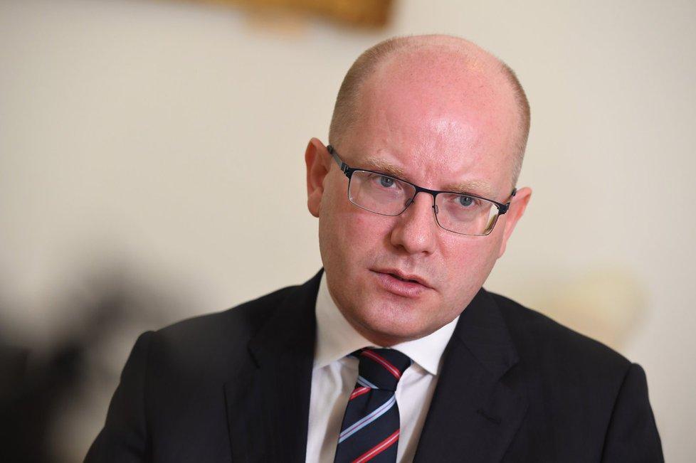 Premiér Bohuslav Sobotka (16.5.2017)