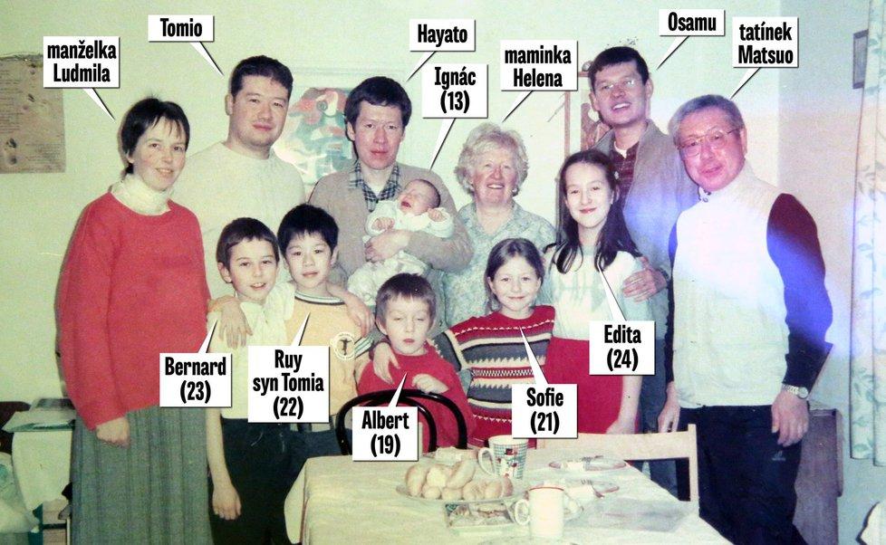 Rodina Okamurových