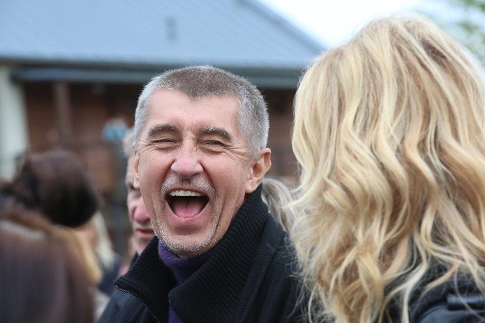 Andrej Babiš a Monika Babišová na Čapím hnízdě