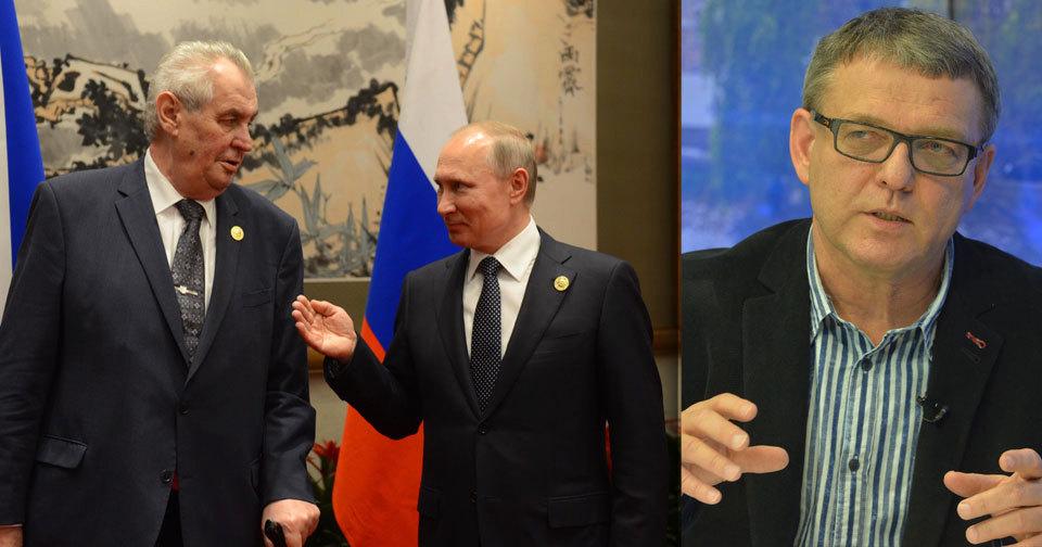 """Coby ministr zahraničí kritizoval Zaorálek prezidenta Miloše Zemana za výrok o likvidaci novinářů: """"Není možné takovýmto způsobem říkat žerty. A některé bonmoty se říkat nedají."""""""