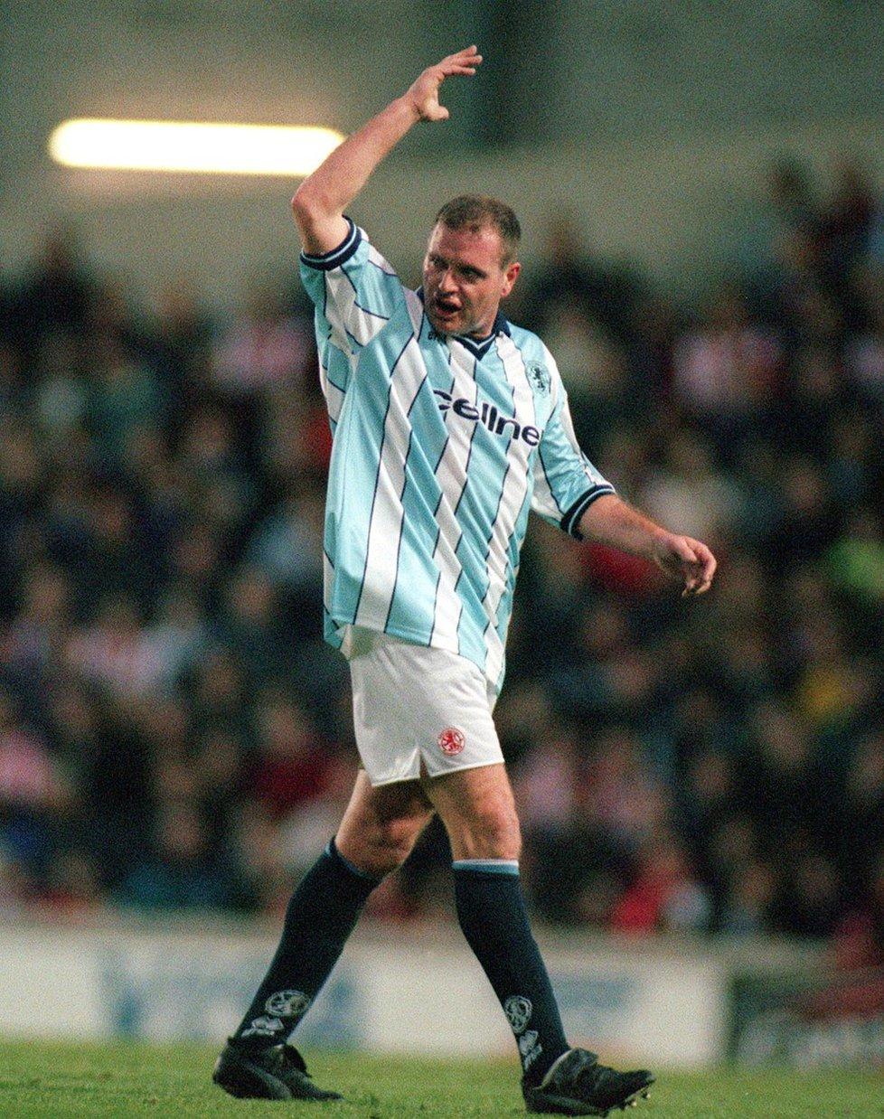 V roce 1998 hrál Paul Gascoigne za Middlesbrough.