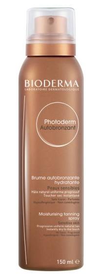 Samoopalovací sprej Biderma Photoderm Autobronzant, 520 Kč (150 ml)