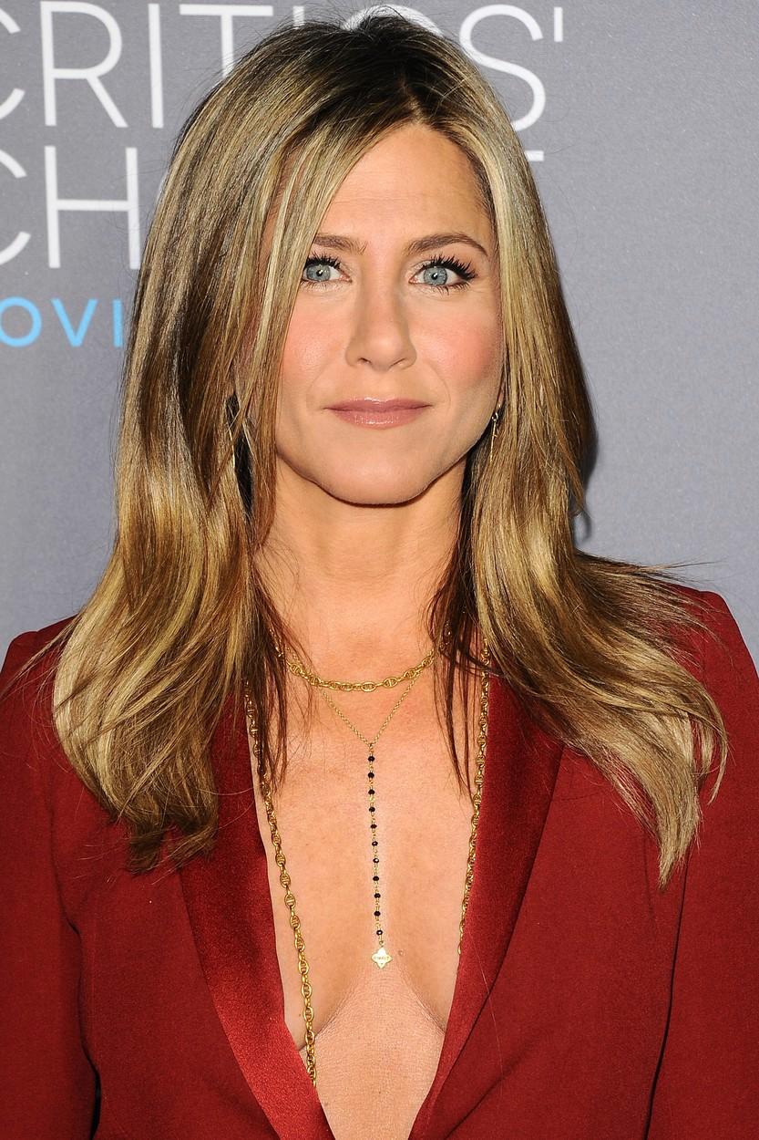 Jennifer Aniston chodí bez podprsenky velmi často