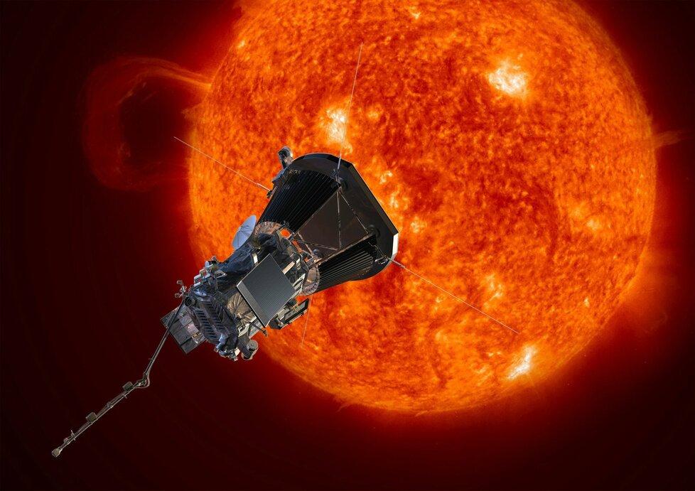 Sonda Parker Solar Probe (Parkerova sluneční sonda) odstartovala 12. srpna 2018.