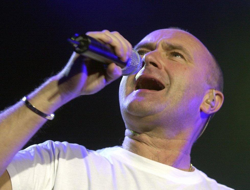 Britský zpěvák Phil Collins