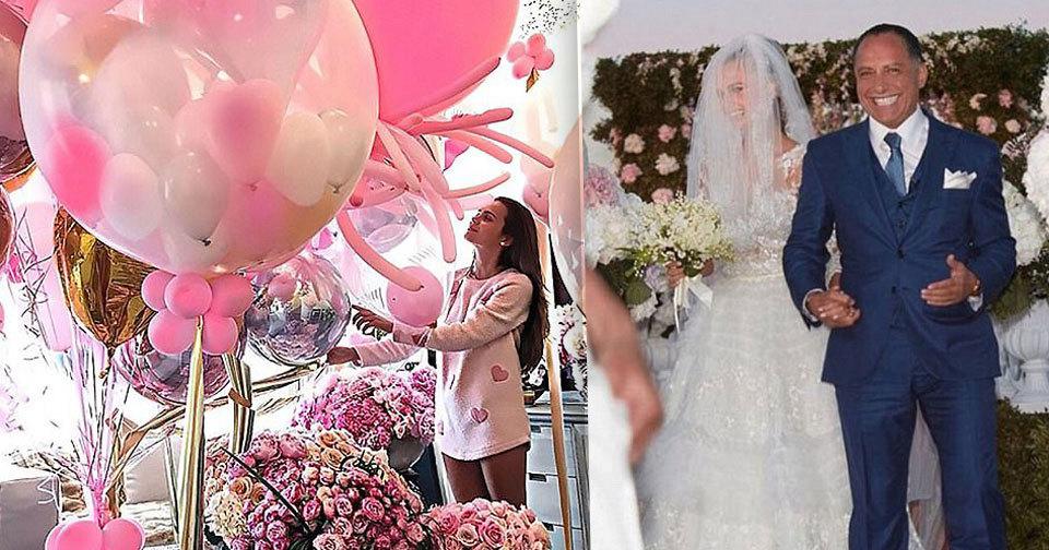 Xenia Deli si vzala starší egyptského podnikatele, první výročí svatby slavila sama.
