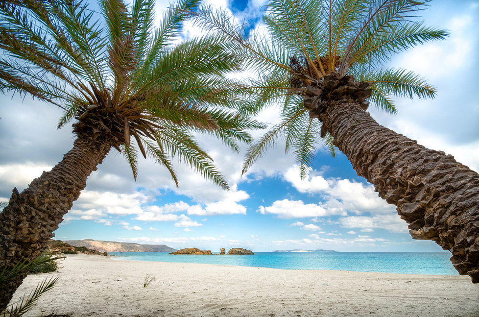 Palmová pláž Vai