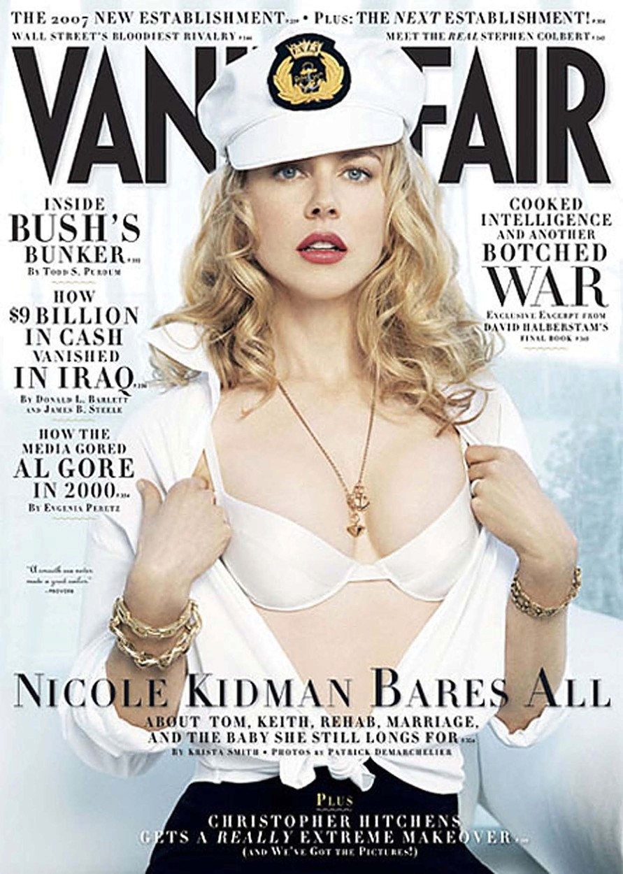 Nicole Kidman v roce 2007