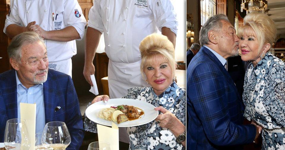 Luxusní menu Ivany Trump!