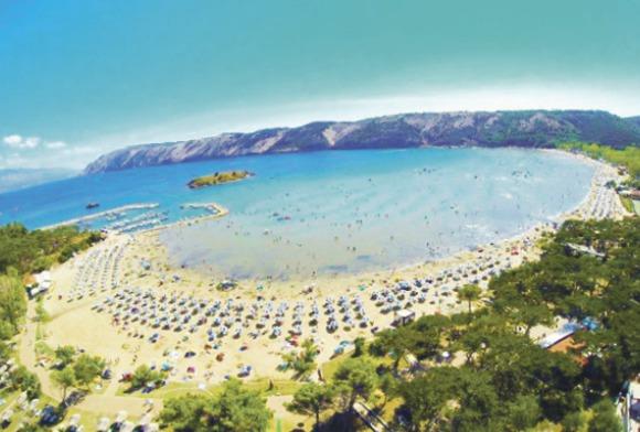 Rajska plaža.