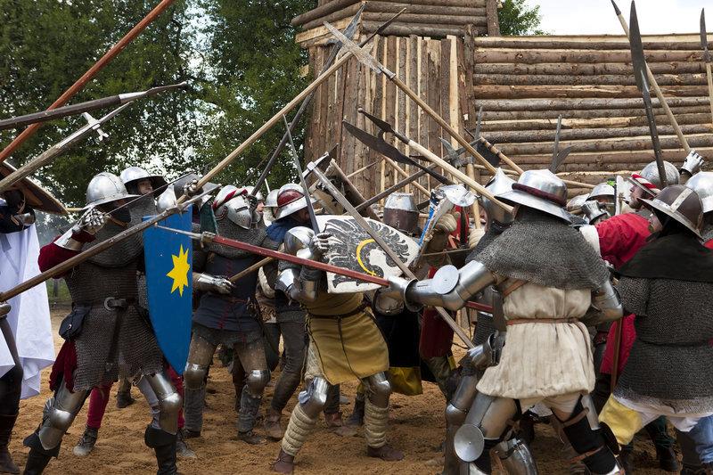 Bitva na Vítkově bývá často připomínána historickými rekonstrukcemi. (ilustrační foto)