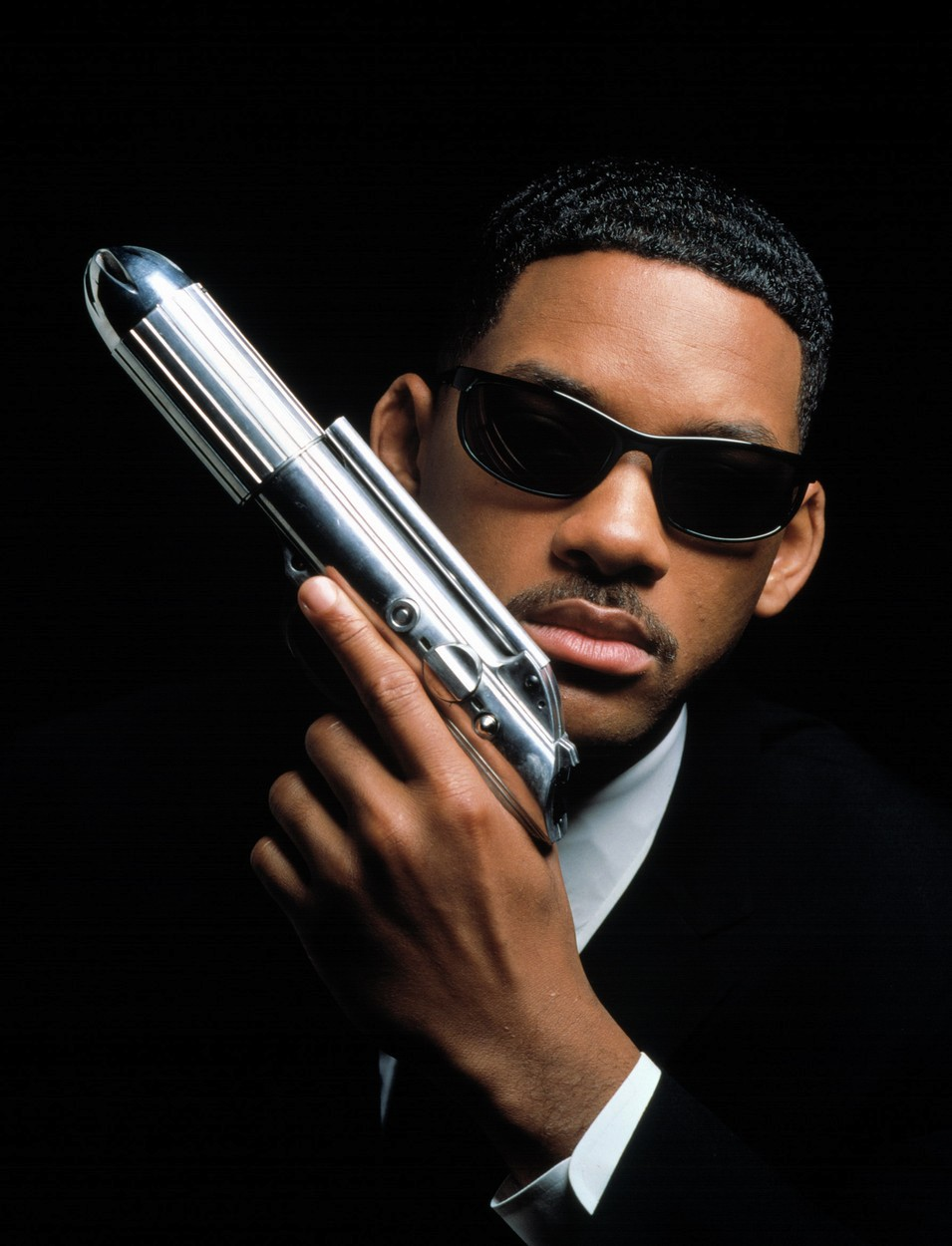 Will Smith v roli agenta J ve filmech Muži v černém