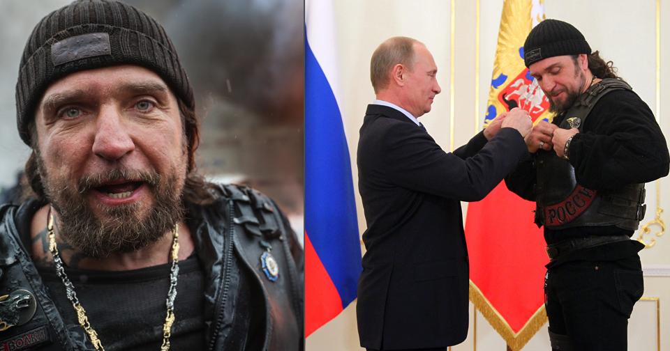 »Chirurg« Zaldostanov a Vladimir Putin