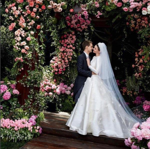 Miranda Kerr se provdala za Evana Spiegela
