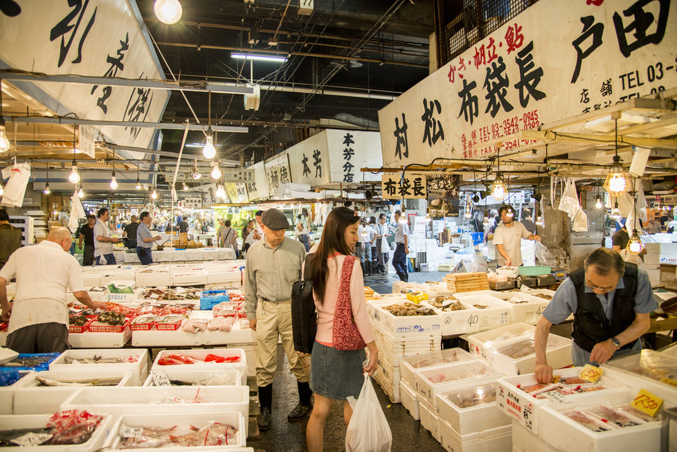 Trh Cukidži v Tokiu
