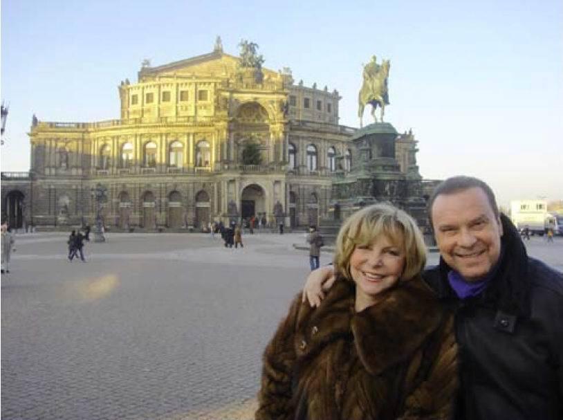 Štefan a Hanka v Drážďanech