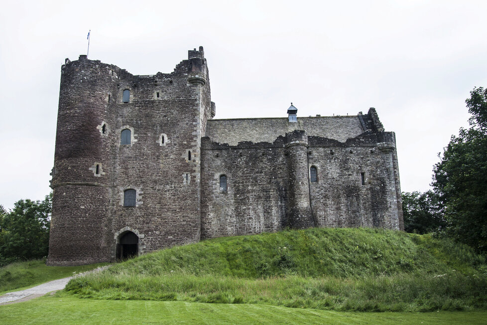 Skotský hrad Doune