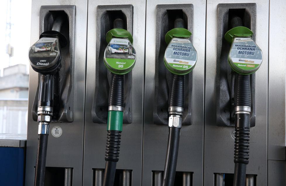 Cena za pohonné hmoty poroste nahoru