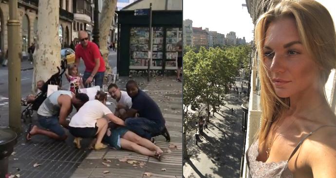 Soňa Procházková o teroristické útoku v Barceloně