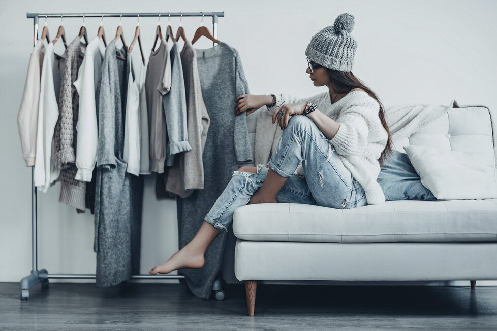 Inspirace jednoduchými outfity  Když už vážně nevíte 99deefc5a0
