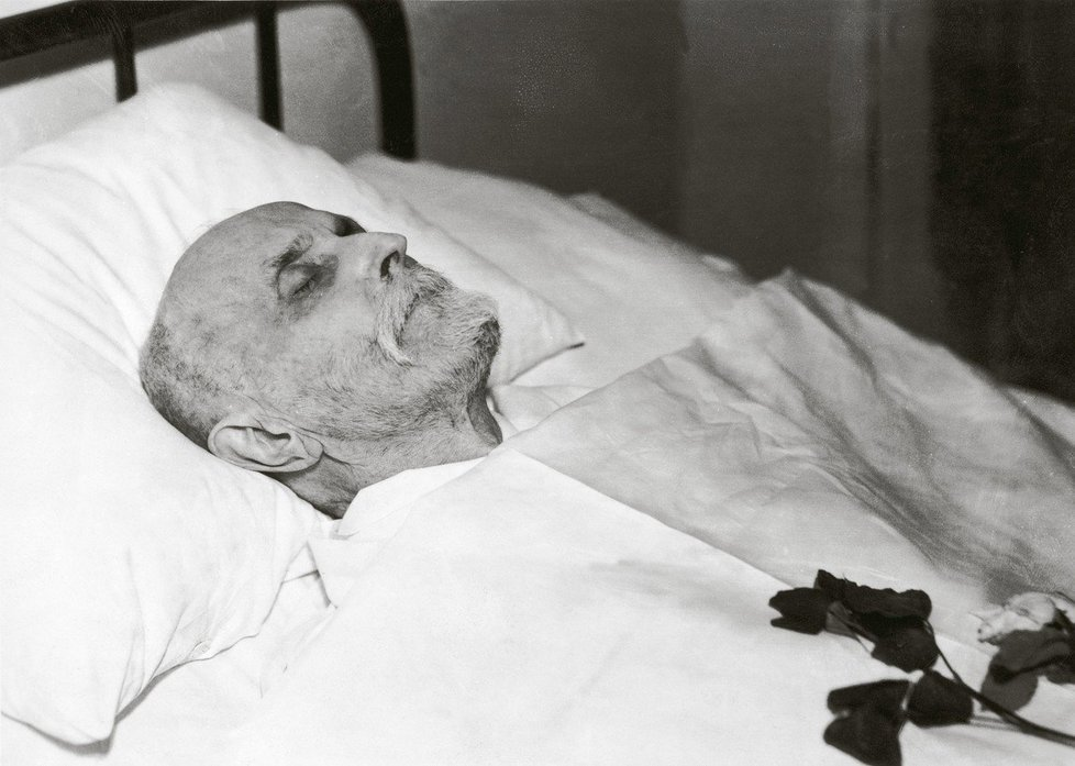 Tomáš Garrigue Masaryk: Posmrtné foto