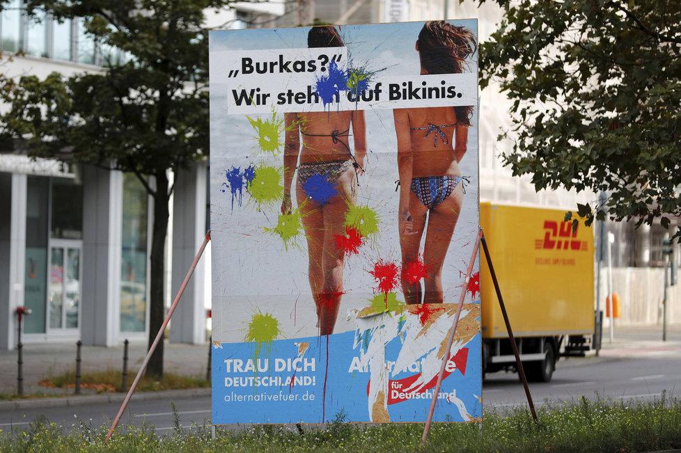 AfD budí v Německu emoce.