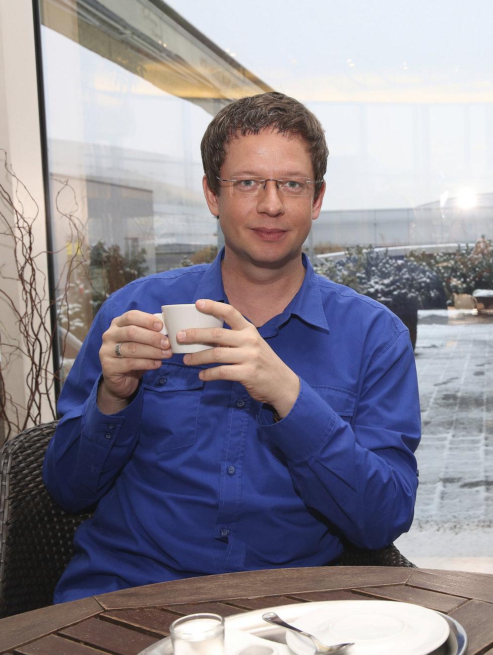 Bývalý moderátor Aleš Cibulka
