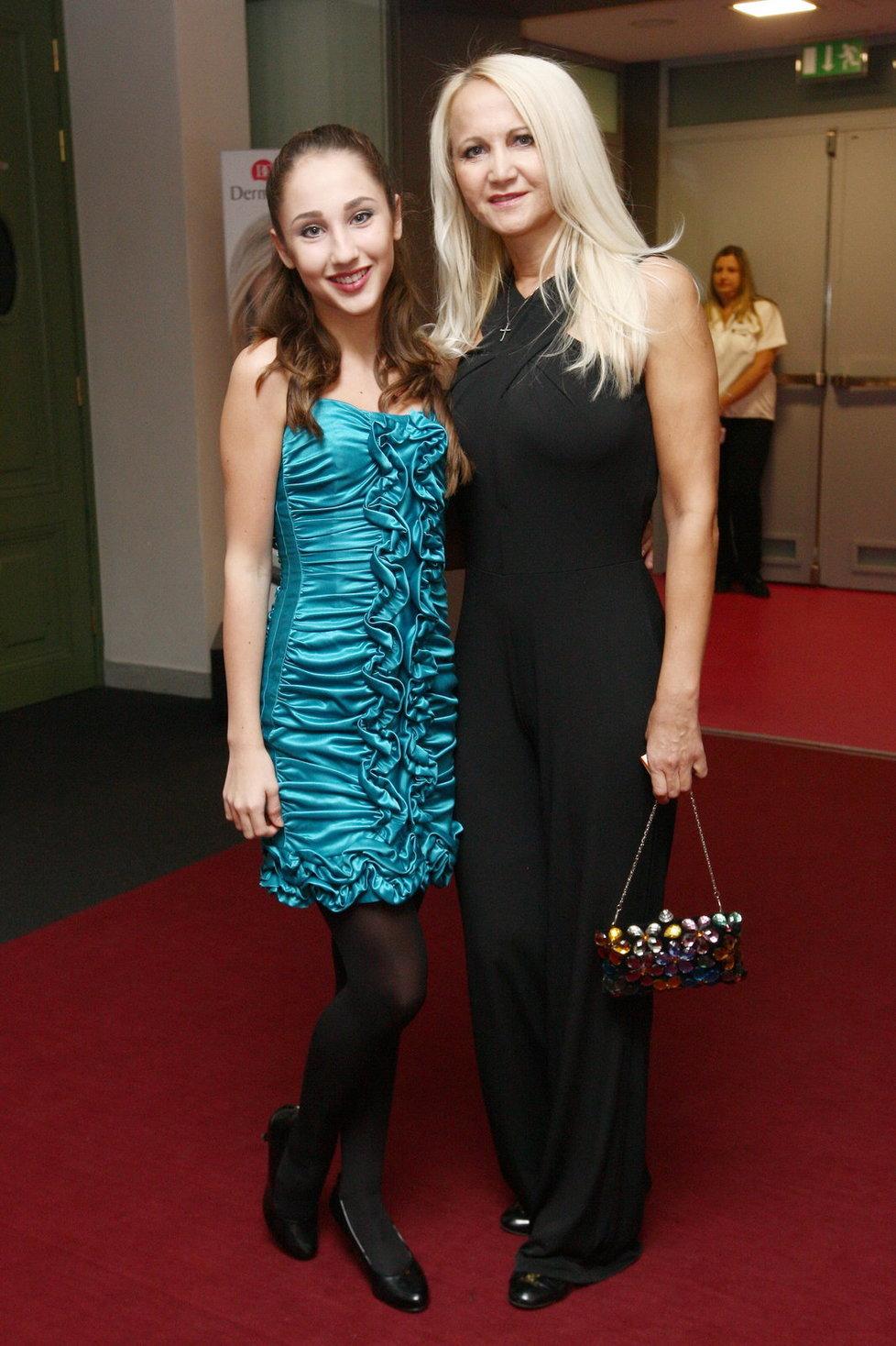 Šárka Grossová s dcerou Natálií