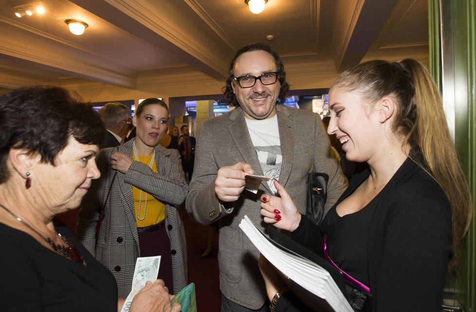 Marián Vojtko se podepisoval fanynkám.