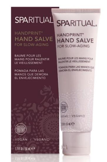 Krém na ruce Handprint Hand Salve, Sparitual, 455 Kč (50 ml). Koupíte na www.sparitual.eu