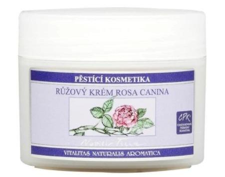 Růžový krém Rosa Canina, Nobilis Tilia, 334 Kč (50 ml). Koupíte na www.eshop.nobilis.cz