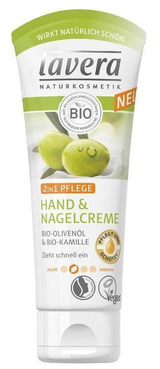 Krém na ruce a nehty 2v1 Lavera, 99 Kč (75  ml). Koupíte na www.organictime.cz