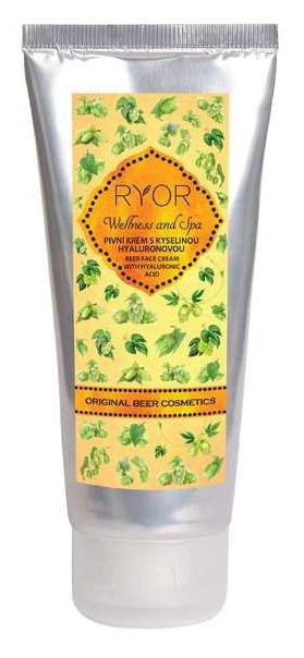 Pivní krém s kyselinou hyaluronovou  Ryor, 114 Kč (100 ml). Koupíte na www.eshop.ryror.cz nebo v kamenných prodejnách.