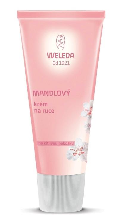 Mandlový krém na citlivou pokožku rukou, Weleda, 229 Kč (50 ml). Koupíte na www.weleda.cz.