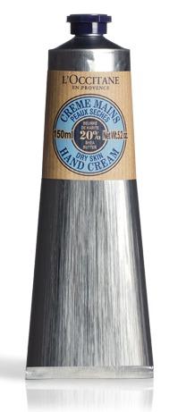 Krém na ruce L´Occitane, 610 Kč (150 ml). Koupíte na www.loccitane.com nebo v kamenných prodejnách.
