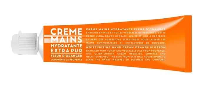 Hydratační krém na ruce Pomerančový květ, Compagnie de Provence,126 Kč (30 ml). Koupíte na www.demdaco.cz