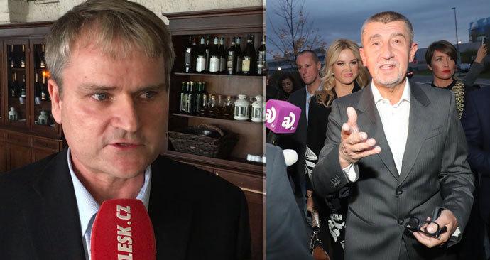 Pavlík z Geometu, firmy zkoumající lithium pod Krušnými horami, se ohradil proti útokům Andreje Babiše.