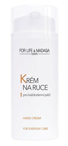 Krém na ruce For Life & Madaga, 164 Kč (100 ml). Koupíte na www.forlifemadga.com