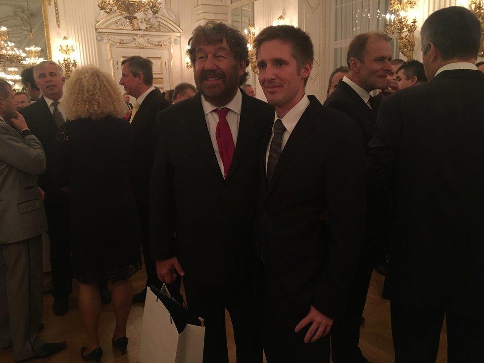 Recepce ve Španělském sále: Fronta na Trošku