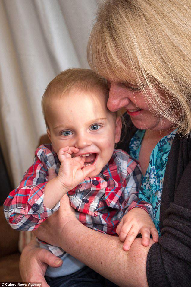 William a jeho maminka