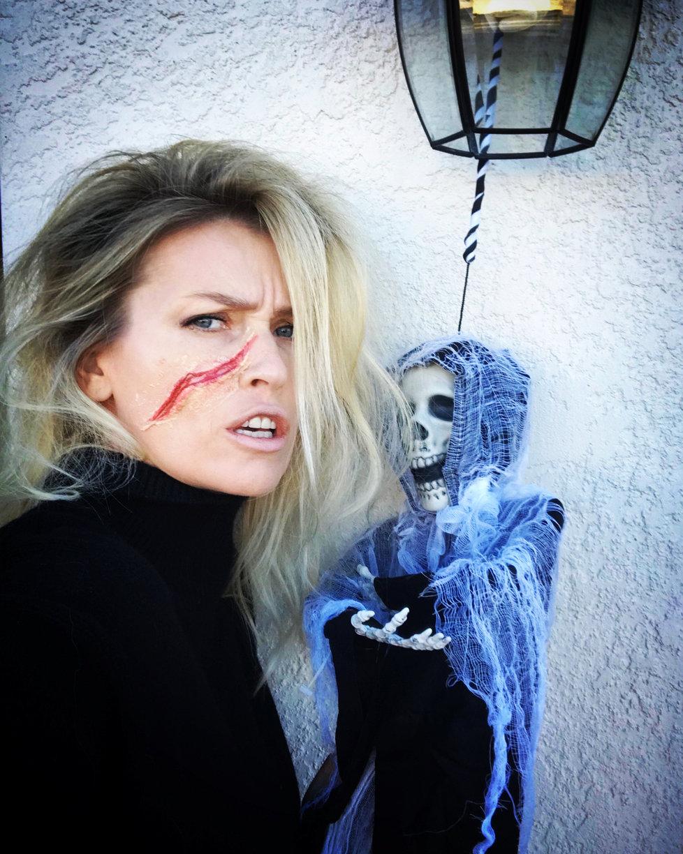 Daniela Peštová (47) neměla v lásce Halloween 2fcf357be7b