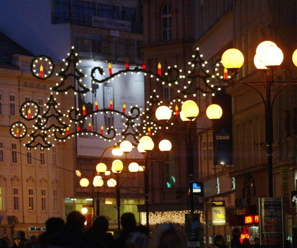 Výzdoba v centru Prahy vyjde na necelé dva miliony korun.