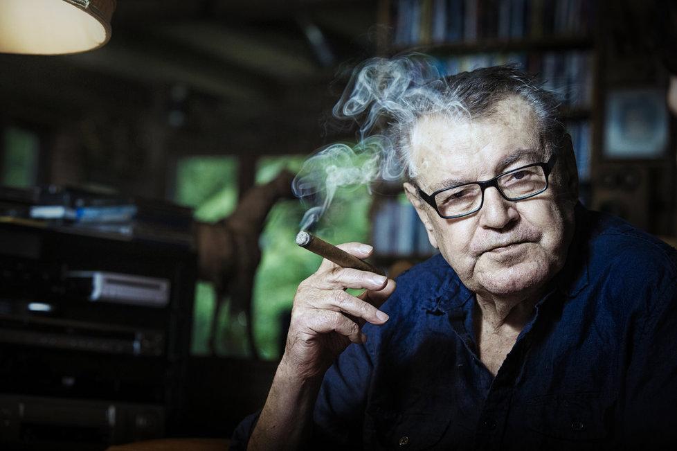 Oscarový režisér Miloš Forman.