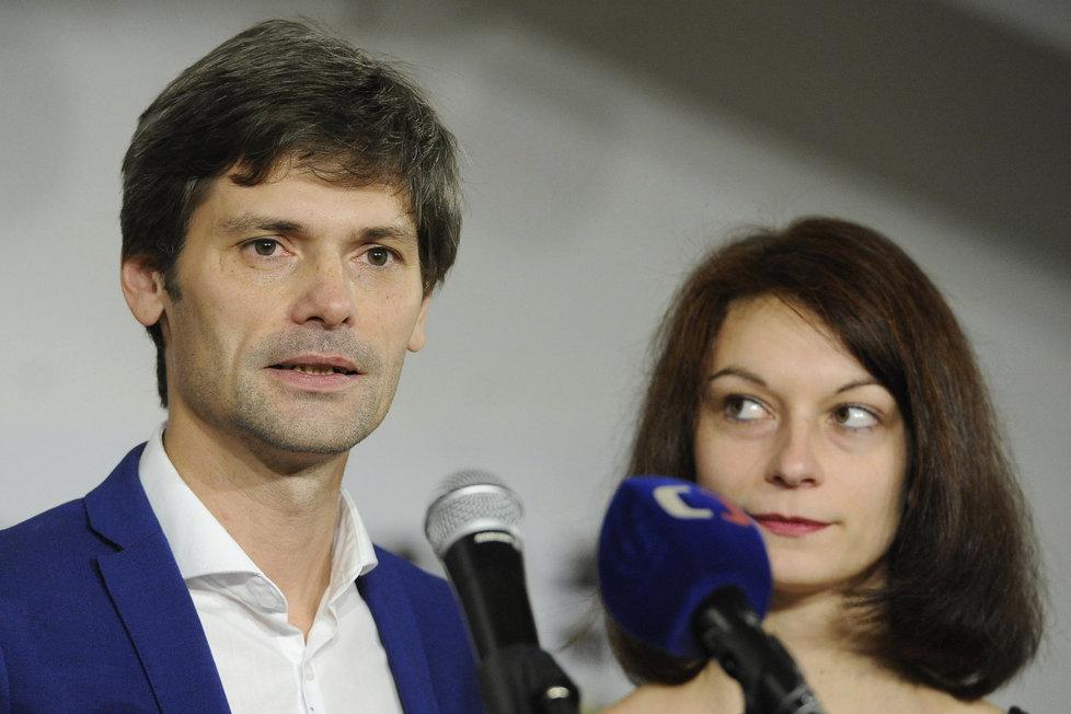 Monika Hilšerová po boku svého muže
