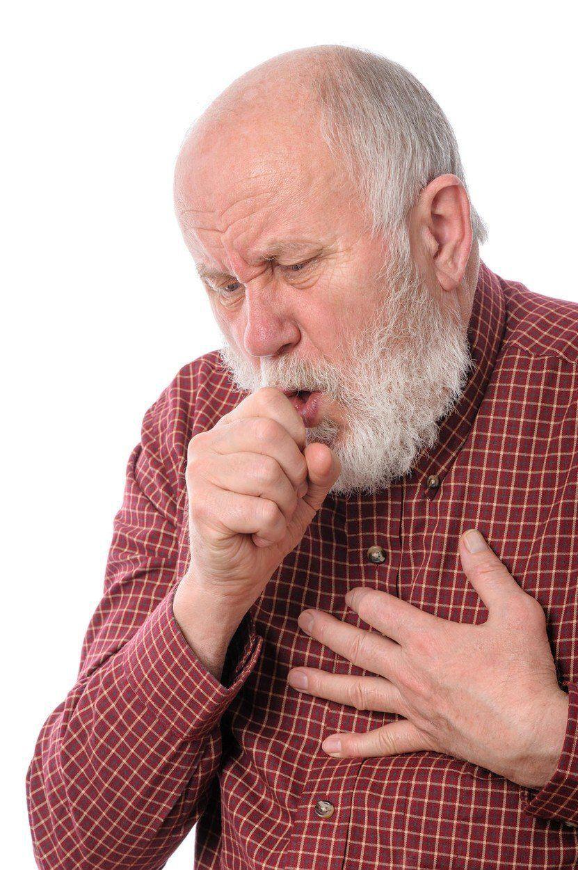 Chlamydie se projevuje úporným kašlem (ilustrační foto).