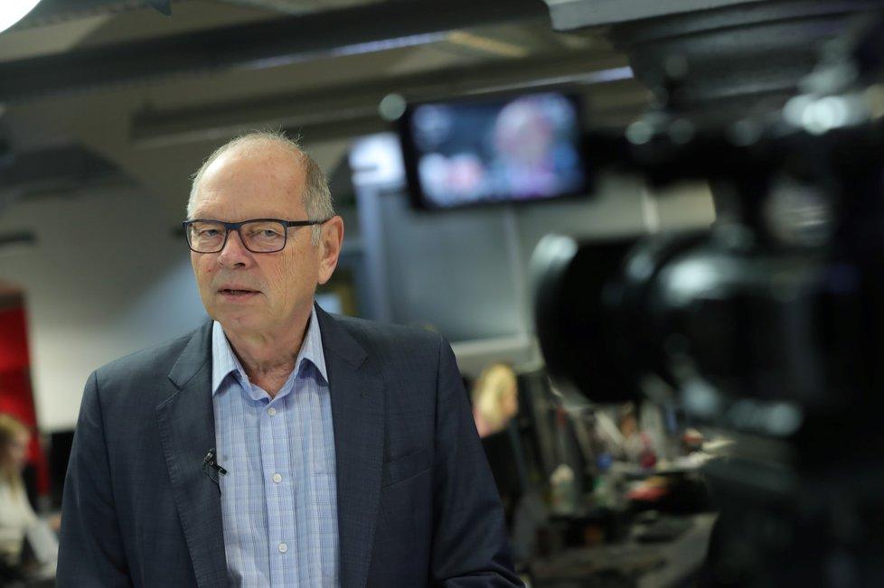 Ministr financí Ivan Pilný (ANO) ve Studiu Blesk