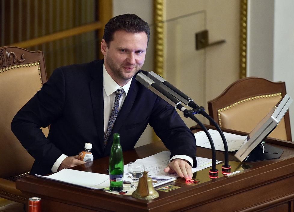 Radek Vondráček (ANO), nový předseda Poslanecké sněmovny