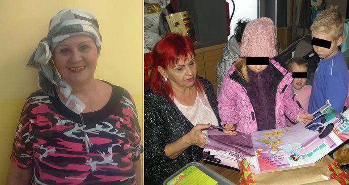 Paní Vlasta pomáhá druhým, nyní sama onemocněla.